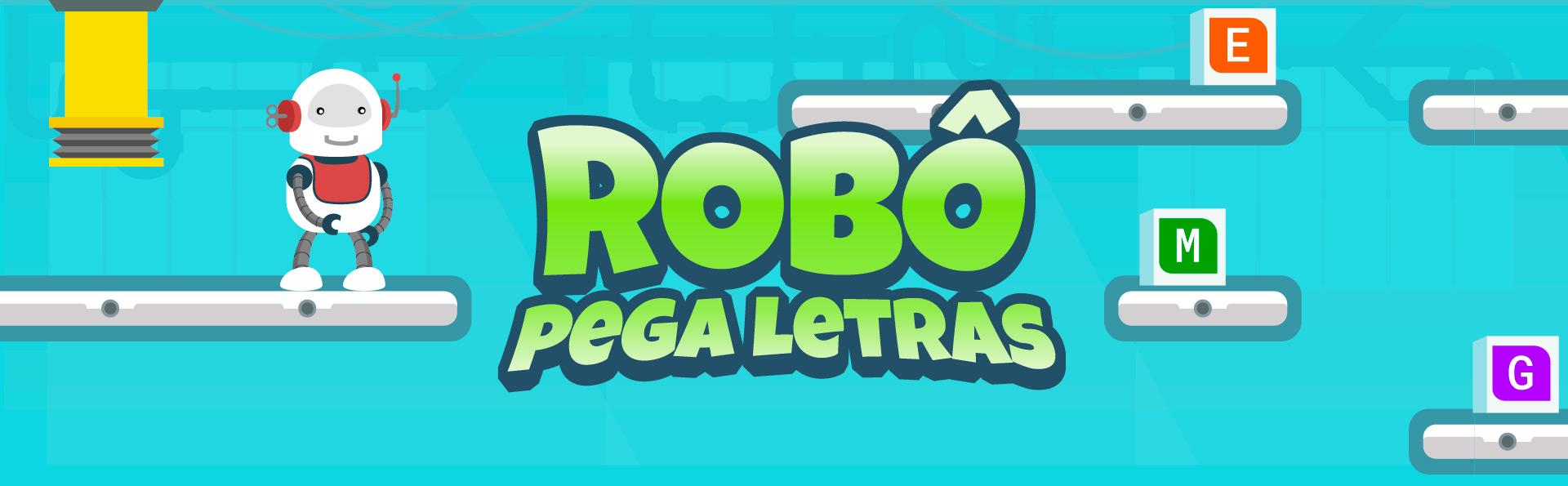 Robô pega letras