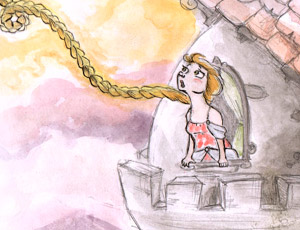 A maldição das tranças de Rapunzel