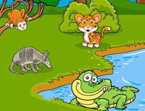 Animais Silvestres Escola Games Jogos Educativos