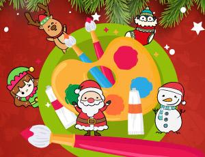 Hora de pintar Natal